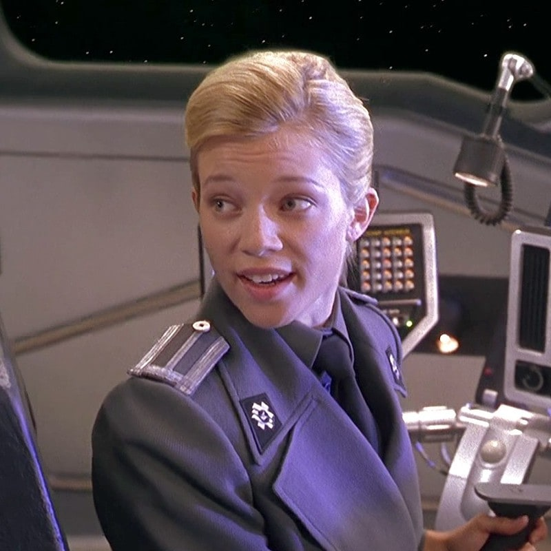 Amy Smart As Pilot Cadet Stack Lumbreiser