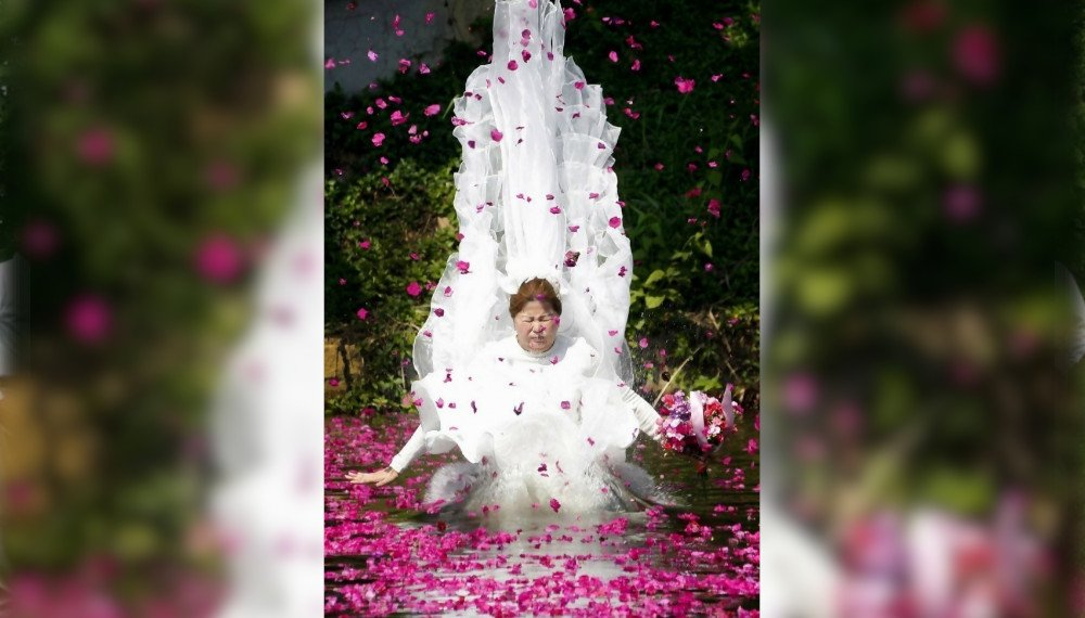 A Disastrous Wedding Photo