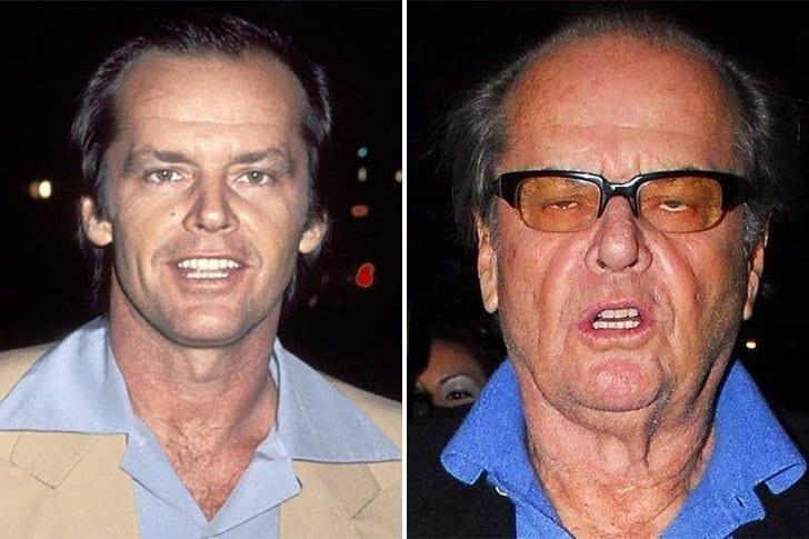 Jack Nicholson – Envelhecimento E Abuso De Substâncias
