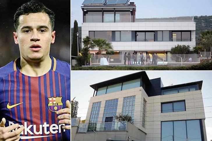 Philippe Coutinho – Mansão em Barcelona, Espanha (Entre $3 Milhões e $5 Milhões)