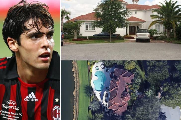 Kaká – Mansão em Orlando, Estados Unidos ($11 Milhões)