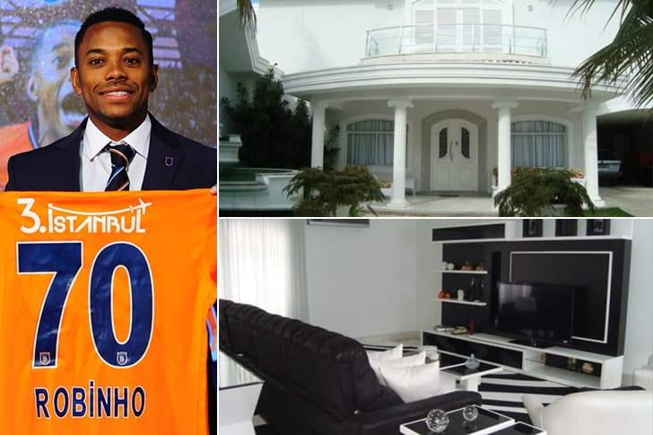 Robinho – Mansão em Guarujá, Brasil ($7 milhões)