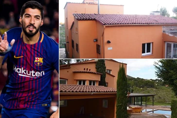 Luis Suárez – Mansão em Barcelona, Espanha ($3 Milhões)