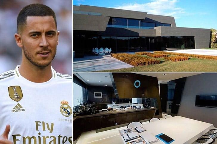 Eden Hazard – Casa em Madrid, Espanha ($13 Milhões)
