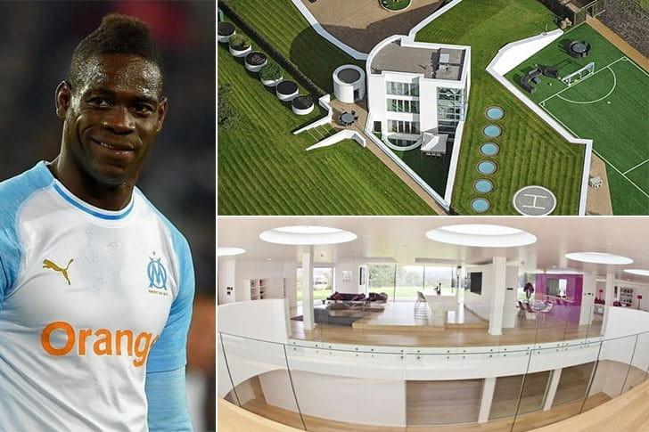 Mario Balotelli – Casa em Liverpool, Inglaterra ($6 Milhões)