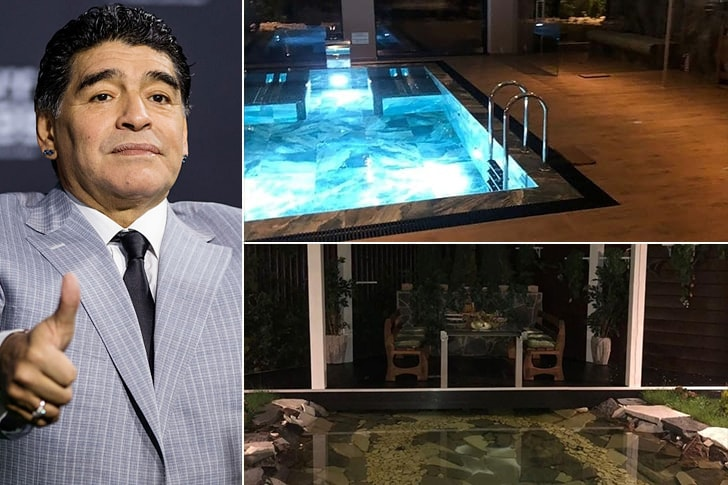 Diego Maradona – Mansão em Minsk, Bielorrússia ($20 Milhões)