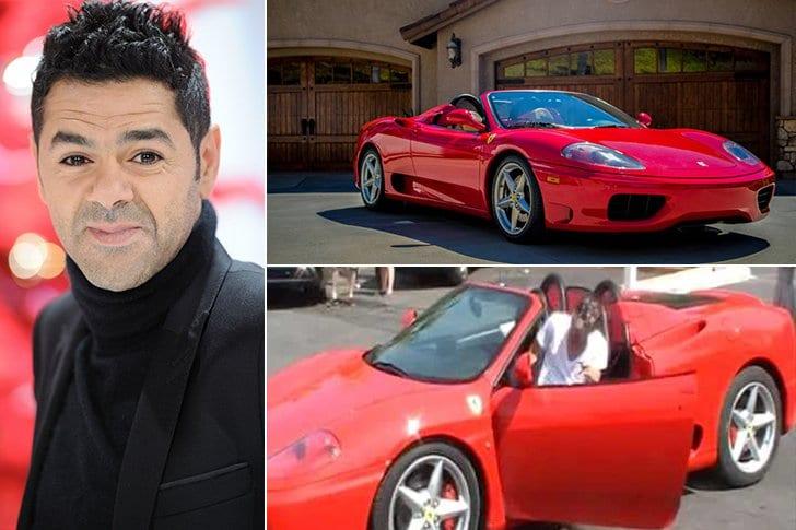 Une Ferrari Rouge Et Décapotable Pour Jamel Debouzze