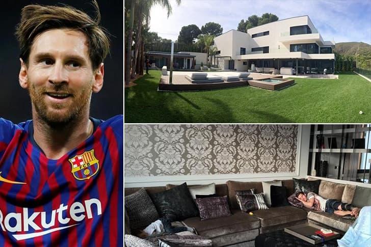 Lionel Messi – Mansão em Barcelona, Espanha ($7 Milhões)
