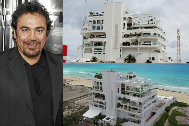 Hugo Sánchez – Casa em Cancún, México (Aproximadamente $1 Milhão)