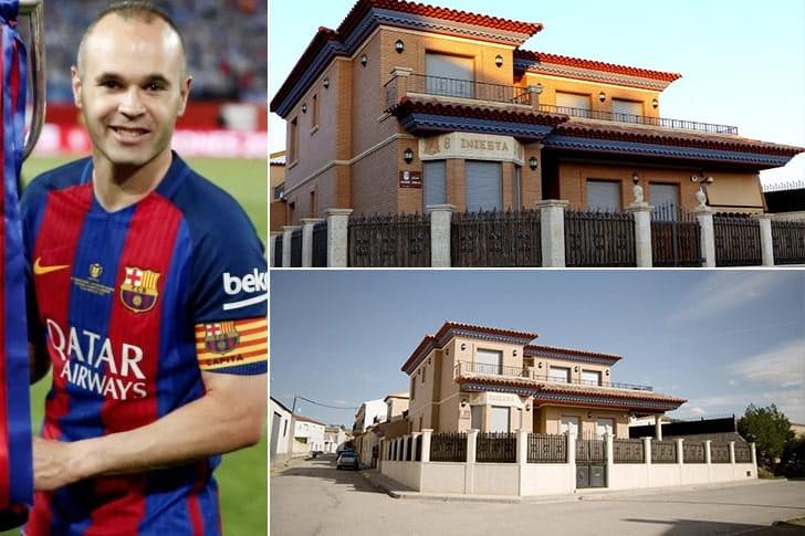 Andrés Iniesta – Casa em Barcelona, Espanha ($4.6 Milhões)