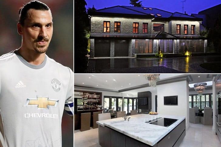 Zlatan Ibrahimović – Mansão em Manchester, Inglaterra ($40.000 Por Semana)