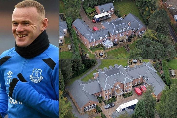 Wayne Rooney – Mansão em Cheshire, Inglaterra ($23 Milhões)