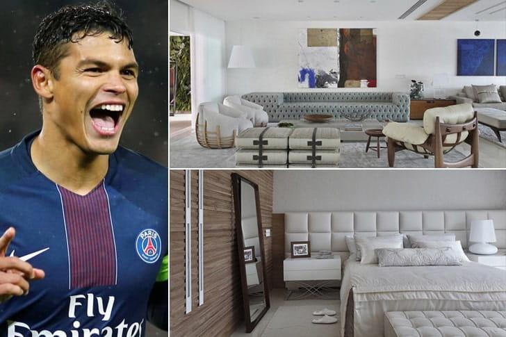 Thiago Silva – Casa no Rio de Janeiro, Brasil ($1 Milhão)