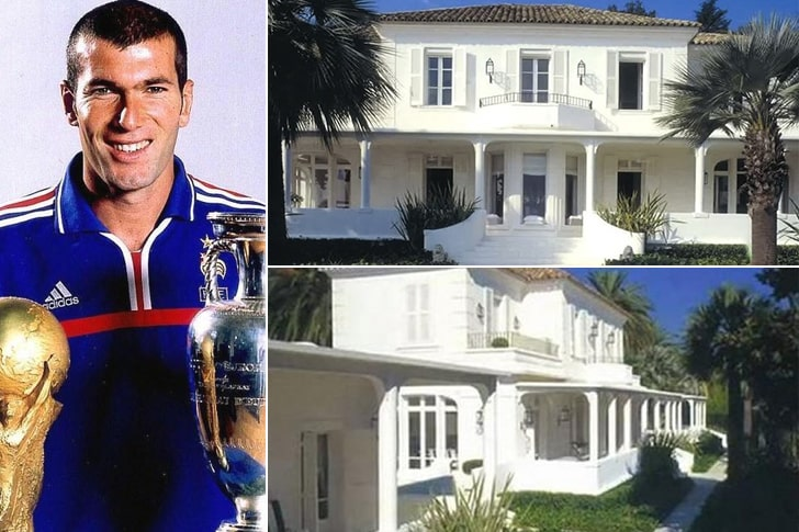 Zinedine Zidane – Mansão em Ibiza, Espanha ($2 Milhões)