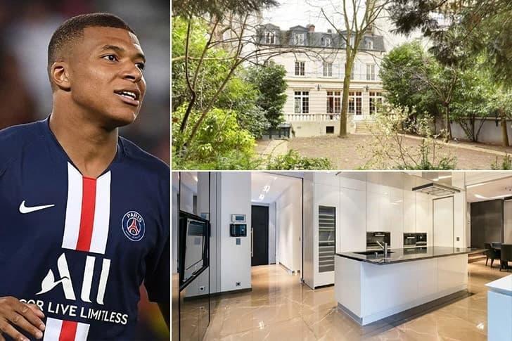 Kylian Mbappe – Mansão em Paris, França ($8.5 Milhões)