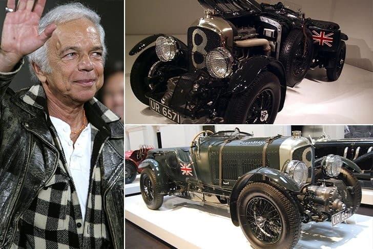 La Vintage Bentley Bower De Ralph Lauren