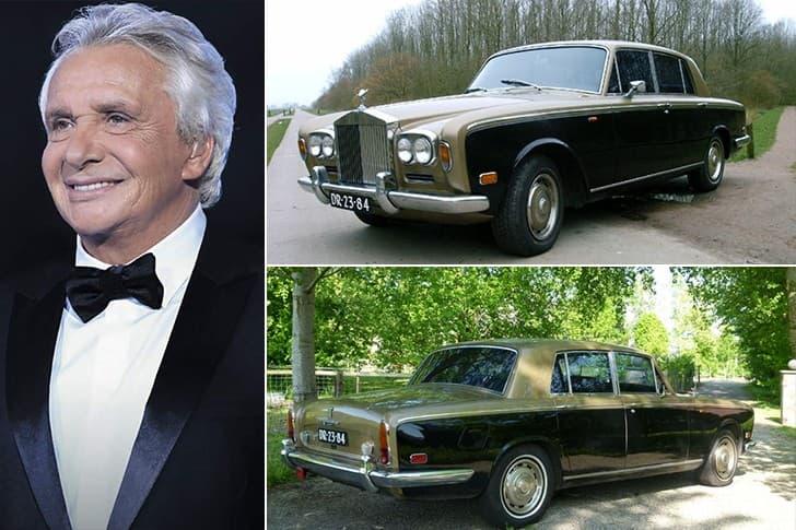 Michel Sardou Roule En Rolls Royce