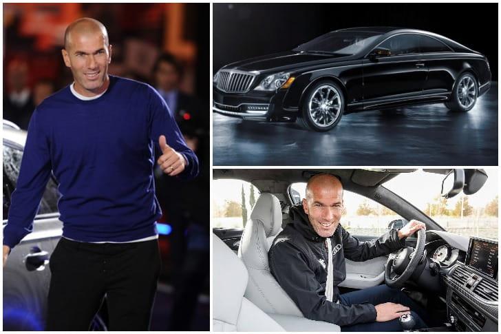 Zinedine Zidane Profite Bien De Sa Maybach