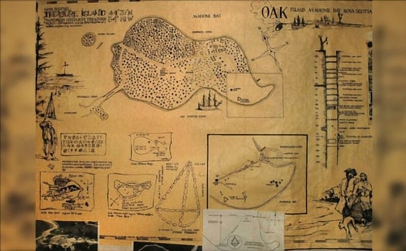 An Old French Map