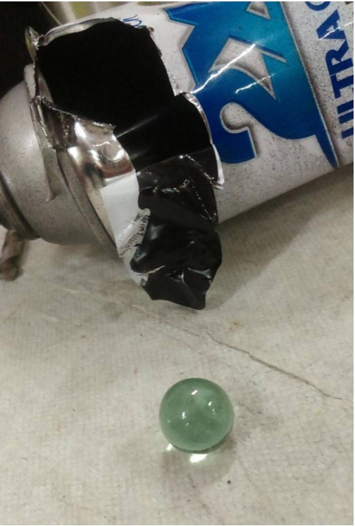 The Ball Inside Of A Spray Paint
