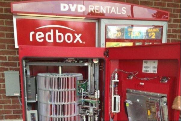 Inside A Redbox