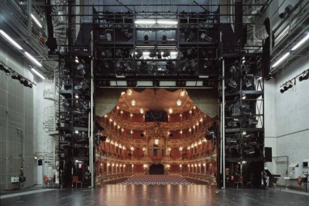 The View Of A Theater From Backstage