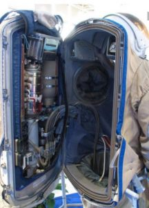 The Interior Of A Space Suit
