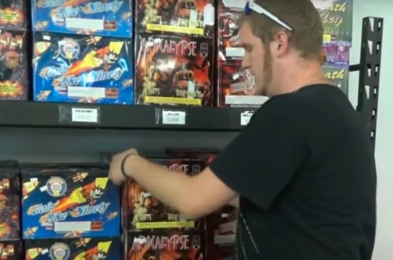 He Used His Savings To Buy Fireworks