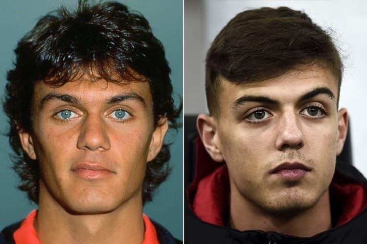 Paolo Maldini E Daniel Maldini