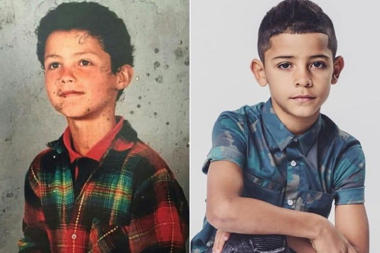 Cristiano Ronaldo E Cristiano Ronaldo Jr.