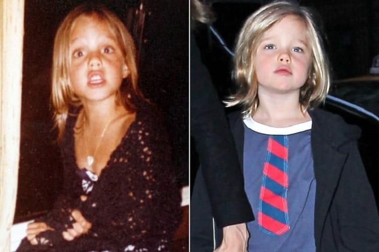 Angelina Jolie Shiloh Jolie Pitt