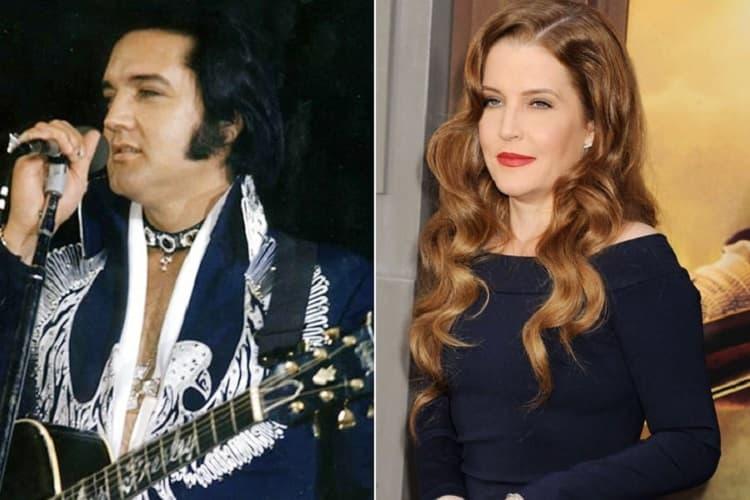 Elvis Presley E Lisa Marie Presley