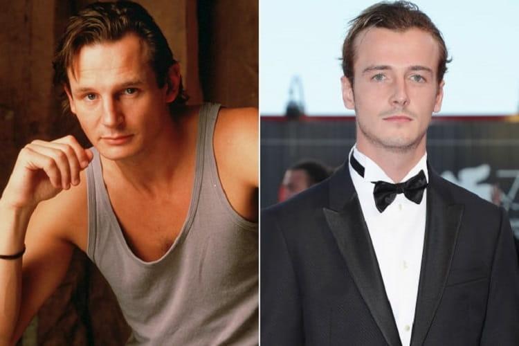Liam Neeson E Micheál Neeson