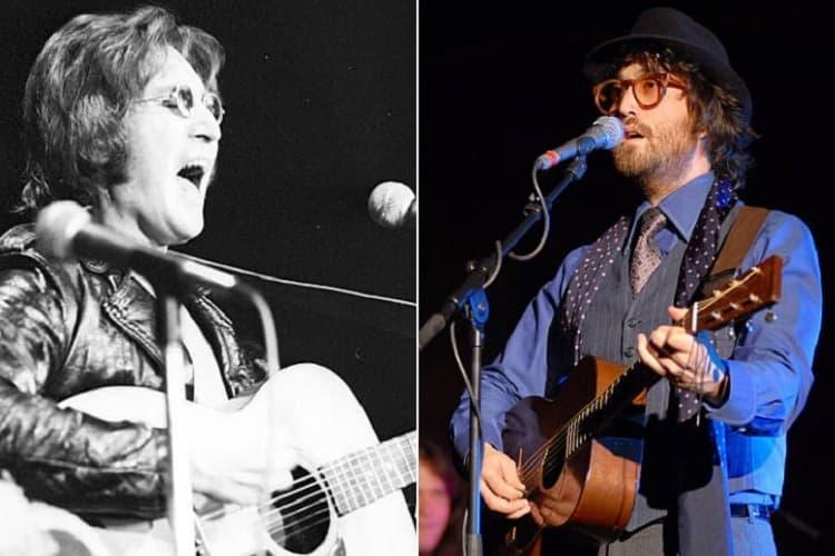 John Lennon E Sean Lennon