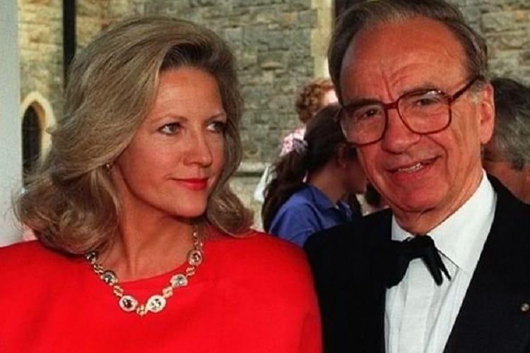 Rupert Murdoch & Anna Maria Torv – $1.2 Bilhões