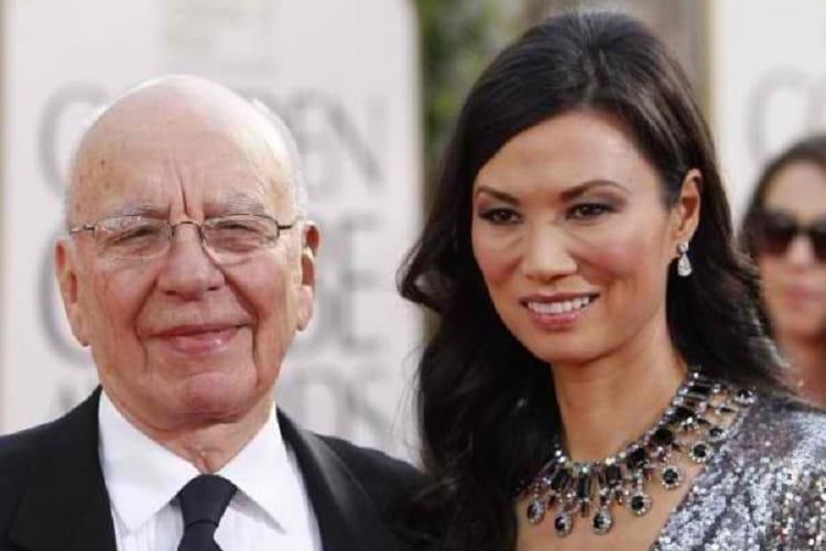 Rupert Murdoch & Wendi Deng – $1.8 Milhões