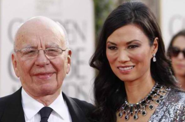 Rupert Murdoch & Wendi Deng – $1.8 Million
