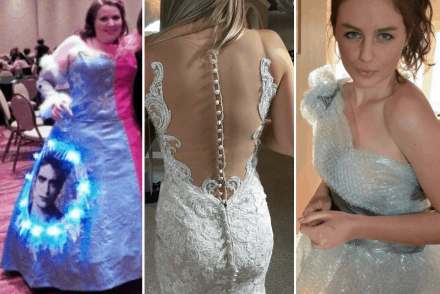 Des Robes De Mariées Qui Ont Embarrassé Les Invités