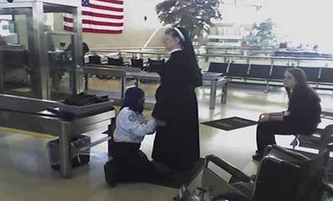 Underneath The Nun
