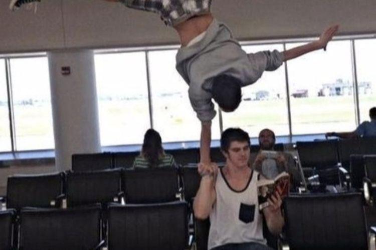 Acrobatics While Waiting