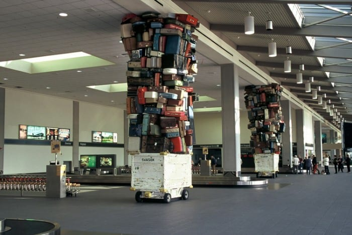 A Great Luggage Tower