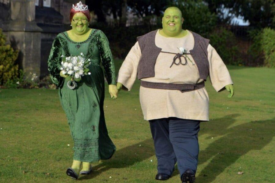 Shrek Et Fiona Arrivent