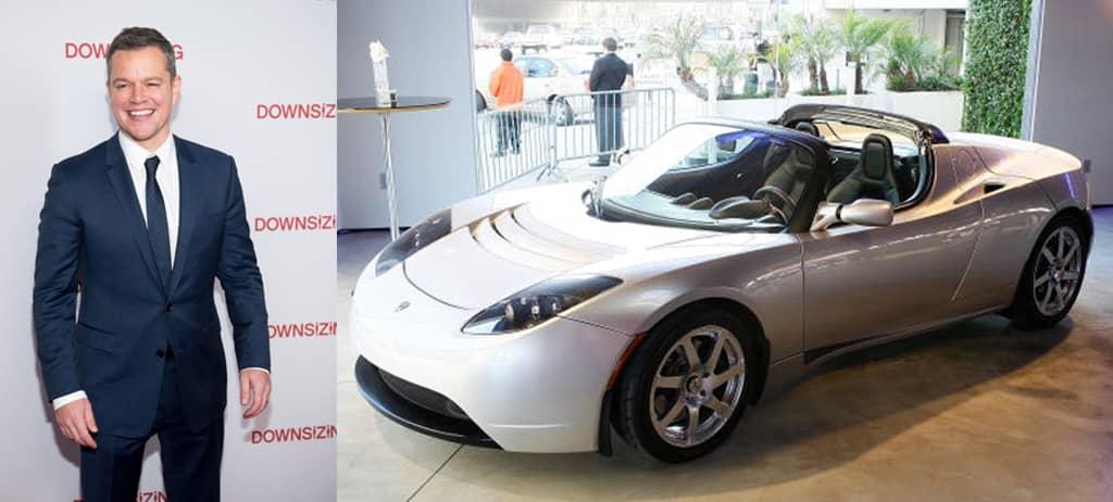 Matt Damon's Tesla