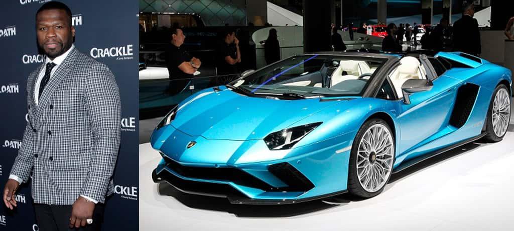 50 Cent's Lamborghini