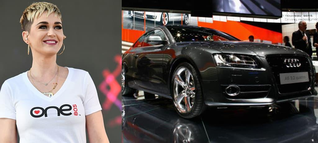 Katy Perry's Audi