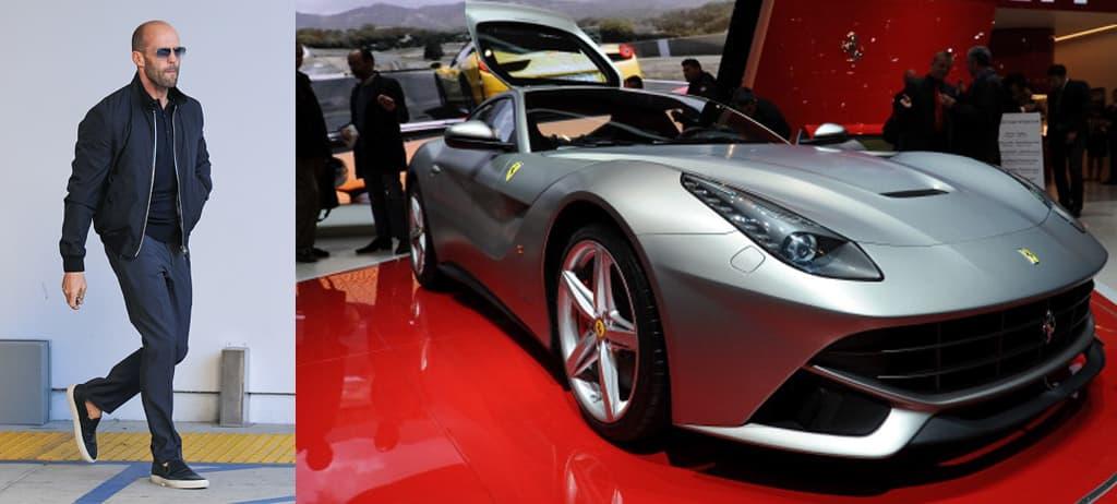 Jason Statham's Ferrari