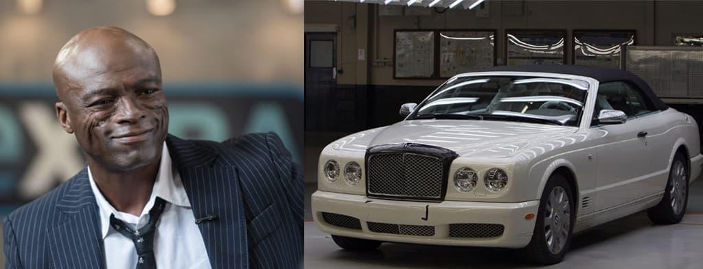 Seal's Bentley Azure