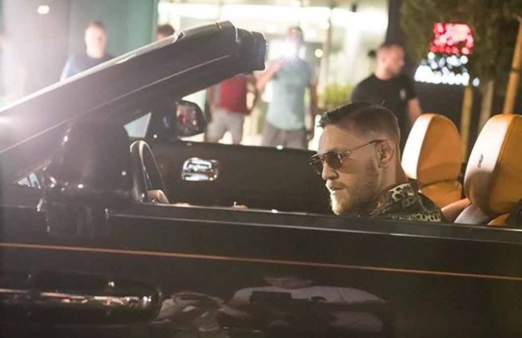 Conor McGregor Celebrates Early With A Fleet Of Rolls Royce