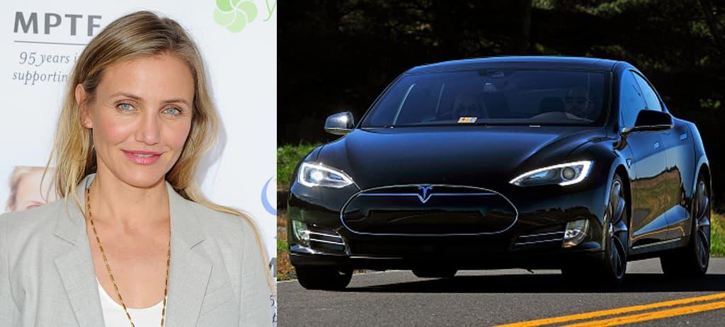 Cameron Diaz's Tesla Model S