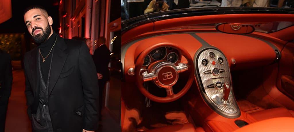 Drake's Dreamy Bugatti Veyron Sang Noir
